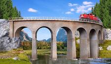 * Kibri scala N 37664 ponte viadotto 90° binario singolo raggio R1 192-195 mm