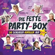 DIE FETTE PARTY-BOX 3 CD NEU MICHELLE/DJ ÖTZI/JÜRGEN DREWS/VOXXCLUB/+