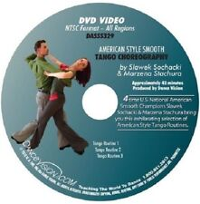 TANGO American Style Smooth Choreography Routines Dance Vision Sochacki DVD