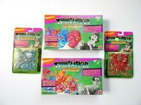 Nickelodeon Thingmaker Mad Scientist Bog Woggs Monster Mix Refills Sealed 1994