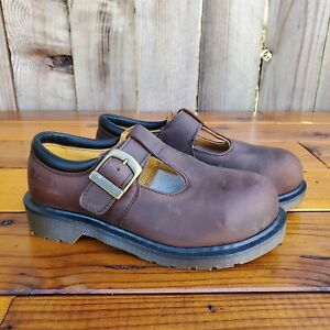 💥Dr. Martens Doc England MIE Rare Vintage Gaucho Steel Toe Mary Janes UK3 US5💥