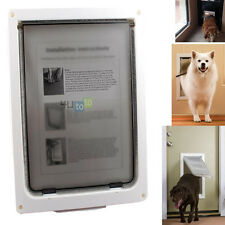 "Extra Large Xl 16""X 13"" automatically Magnetic Lockable Pet Cat Dog Flap Door"