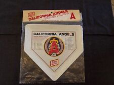 California Angels 25th anniversary (1961-1985) souvenir home plate / plaque