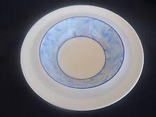 vintage art deco royal doulton envoy dessert cereal bowl d5423 blue & white