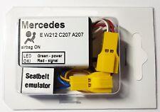 Seat Occupancy Mat Bypass MERCEDES E W212 S212 A207 C207 Airbag Sensor Emulator