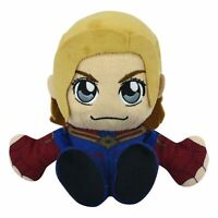 "Marvel's Captain Marvel 8"" Kuricha Sitting Plush- Soft Chibi Inspired Toy"