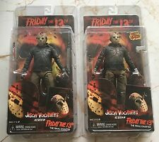 """2 x NECA JASON VOORHEES Friday the 13th Part 4 7"""" Figure The Final Chapter New"""