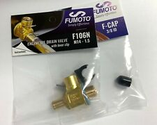 Fumoto F106N Oil drain valve with nipple M14 – 1.5 W/ LC-10 Clip and Cap