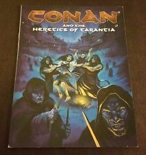 CONAN AND THE HERETICS OF TARANTIA RPG Book OGL D20 MGP 7716 D&D SC Mongoose NEW