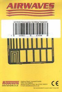 AEM029 - NEW Airwaves Rectangular Scribing Template