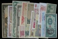 15 Different Mixed Foreign World Banknote Currency Paper Money Lot #255