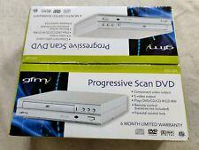 GFM Progressive Scan Mini DVD CD Player S-Video Output NIB