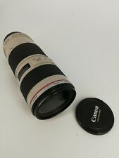 CANON EF 70-200mm 1:4 L USM LENS - E F 70-200 mm f/4.0L USED