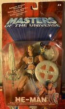HE-MAN Masters Of The Universe Mattel 2001 Action Figure NEW.