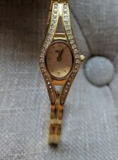 Relic Women's Gold Tone Crystal Watch