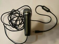 KONAMI LOGITECH USB Microphone for PS2 PS3 PS4 XBOX 360 PC Wii A-0060A