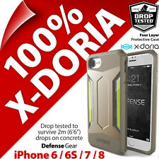 X-Doria Defense Gear Protection Robuste étui coque Apple iPhone 6 / 6S / 7 / 8