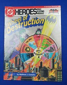 DC Heroes Wheel Of Destruction 206 <Sealed> Batman - Mayfair Games - RPG