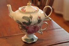 Romantic Rose Teapot Duo by Burton & Burton