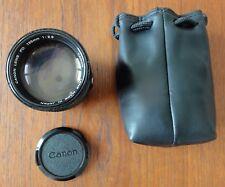 Superbe Téléobjectif CANON FD 135 MM 1: 2.8 Vintage CANON Lens FD 135 MM 1: 2.8