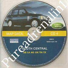 2001 2002 2003 2004 RANGE LAND ROVER NAVIGATION MAP DATA CD 4 AR LA MS OK TN TX