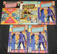 DC Bronze-Copper JUSTICE LEAGUE OF AMERICA 103pc Mid Grade Comic Lot VF JLA