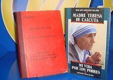 Libro TEOLOGIA POPULAR y MADRE TERESA DE CALCUTA