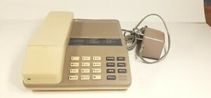 VINTAGE AT&T 5500 Cordless Speakerphone With Cradle - Complete,Lightly Used E1