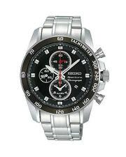 Seiko Armbanduhren mit Datumsanzeige und gebürstetem Finish