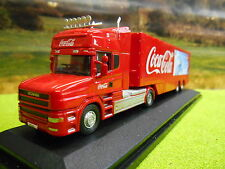 OXFORD COCA COLA SCANIA T CAB POLAR BEAR BOX TRUCK 1/76 76TCAB005CC