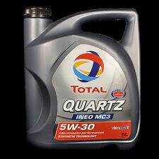 Total Quartz ineo mc3 5w-30 5l-VW 502.00/505.01, bmw ll-04, MB 229.51, dexos2