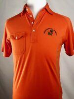 Logo7 Inc Vintage Mens University Of Florida Gator Polo Orange Shirt Size Medium