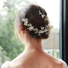 Crystal Wedding Hair Barrettes Bridal Crystal Headbands Wedding Hair Accessory