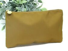 ORIGINS Golden Brown Beauty Makeup Bag Cosmetic Case Pouch Super Cute, New