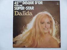 DALIDA 45eme disque d or pour une super star IS 39717