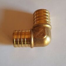 "10 PIECE 1"" PEX ELBOW - BRASS CRIMP FITTINGS (LEAD-FREE)"