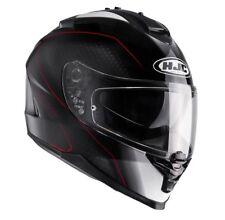 HJC Motorrad-Helm Integralhelm IS 17 Arcus / MC1 Größe M (58) schwarz weiß rot