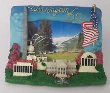 """Washington DC Souvenir 3D Picture Frame 3.5""""x5"""" photo White House Capitol ()"""