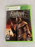 Fallout: New Vegas Video Game  Microsoft Xbox 360 - COMPLETE WITH MANUAL