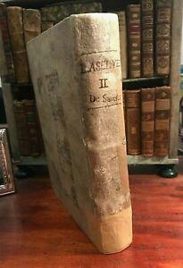 Zacharie Laselve Annus Apostolicus - Typographia Balleoniana TOMO SECONDO 1741