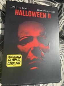 Halloween II 2 Michael Myers (DVD) Glow In The Dark Slip Cover Limited Edition