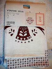 IKEA 'Vinter 2016' Kitchen Towels Cranberry Red, Set of Two, 100% Cotton, India