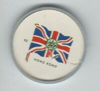 1963 General Mills Flags of the World Premium Coins #93 Hong Kong