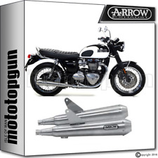 Arrow 2 Exhaust PRO-RACING TRIUMPH BONNEVILLE t120 2016 16 2017 17