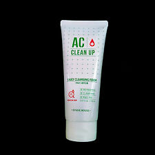 Etude House AC Clean Up Daily Cleansing Foam For Acne Skin Facial Foam Cleanser