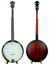 Rally 5 String banjo high quality ,mahogany resonator,geared tuners MB100 series