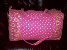 Taylor Layne large pink duffel bag