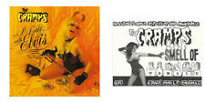 2 Vinyl Stickers cramps rockabilly psychobilly lux pussy laptop date Elvis smell