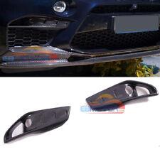 carbon fiber front Upper Splitters Inserts 1p for BMW F85 X5M F86 X6M 15UP b428