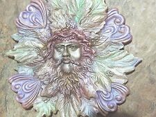 mold face greenman ooak by Josh Barbee original carving Exceptional